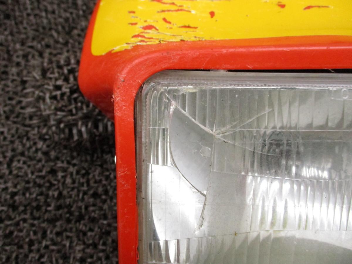 XLX250R ヘッドライト レンズ □QX24 カウル!MD08 修復素材に ホンダ 【 MD08E 】_画像3