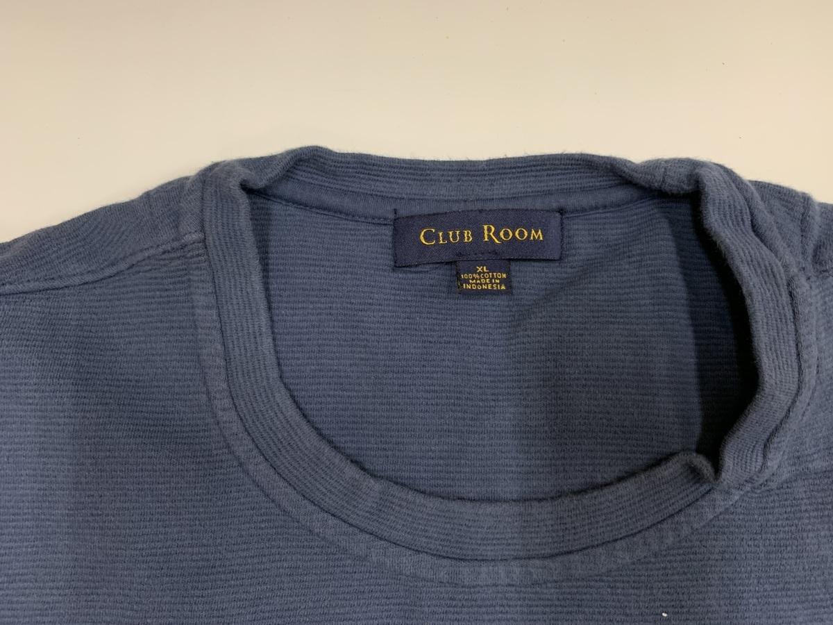 club room Tシャツ  アメリカ輸入品 USA古着卸 アメカジ サイズ XL BIG オーバーサイズ 無地_画像2