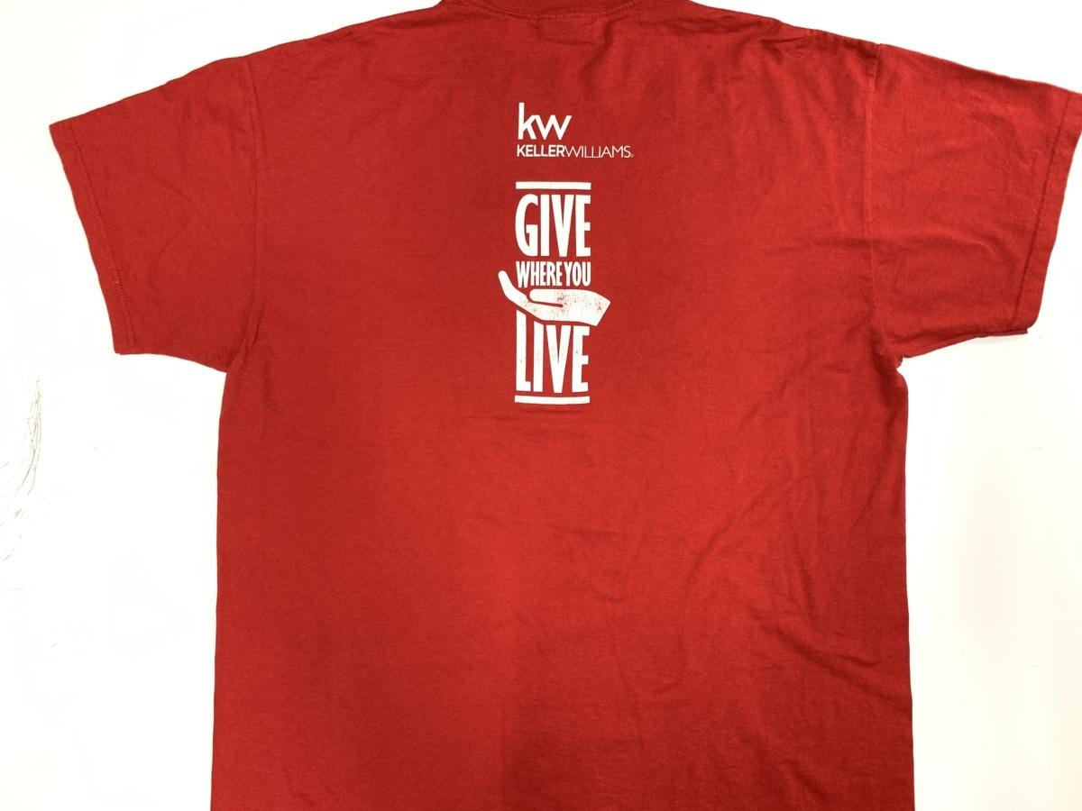 red day Tシャツ  アメリカ輸入品 USA古着卸 アメカジ サイズ 2XL BIG オーバーサイズ jerzeesタグ_画像5