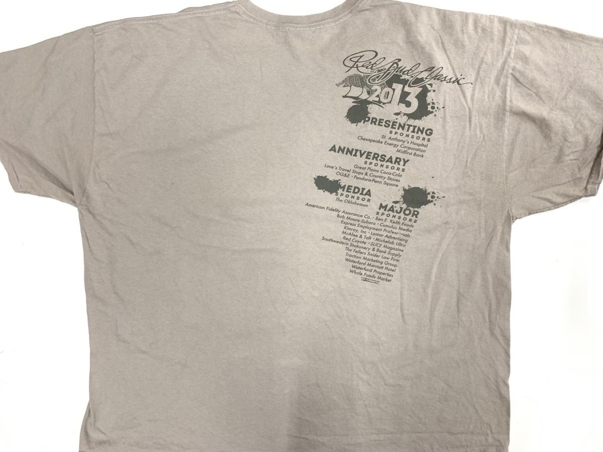 RED BUD Tシャツ  アメリカ輸入品 USA古着卸 アメカジ サイズ3XL BIG オーバーサイズ gildanタグ_画像4