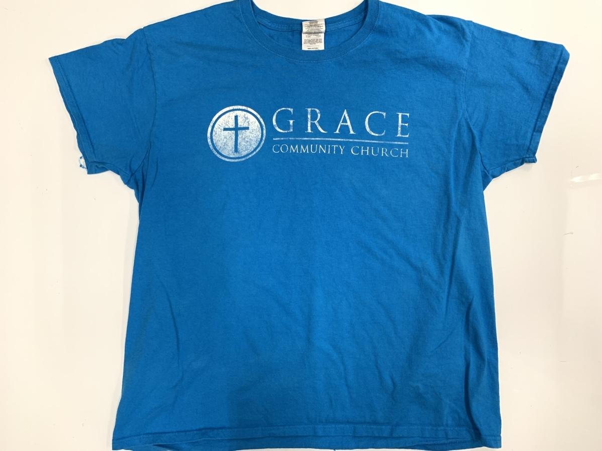 grace Tシャツ  アメリカ輸入品 USA古着卸 アメカジ サイズ XL BIG オーバーサイズ gildan タグ_画像1