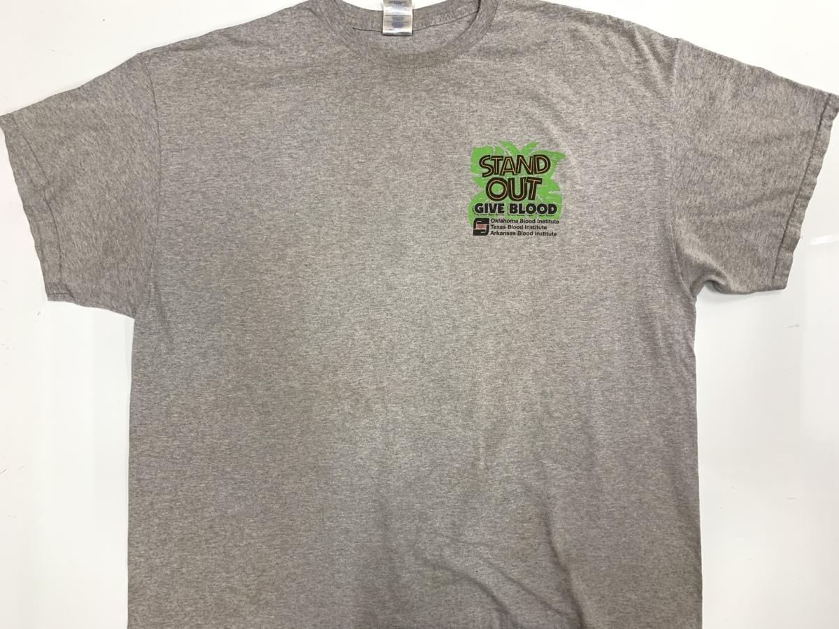 stand out Tシャツ アメリカ輸入品 USA古着卸 アメカジ サイズ 2XL BIG オーバーサイズ gildanタグ_フロント