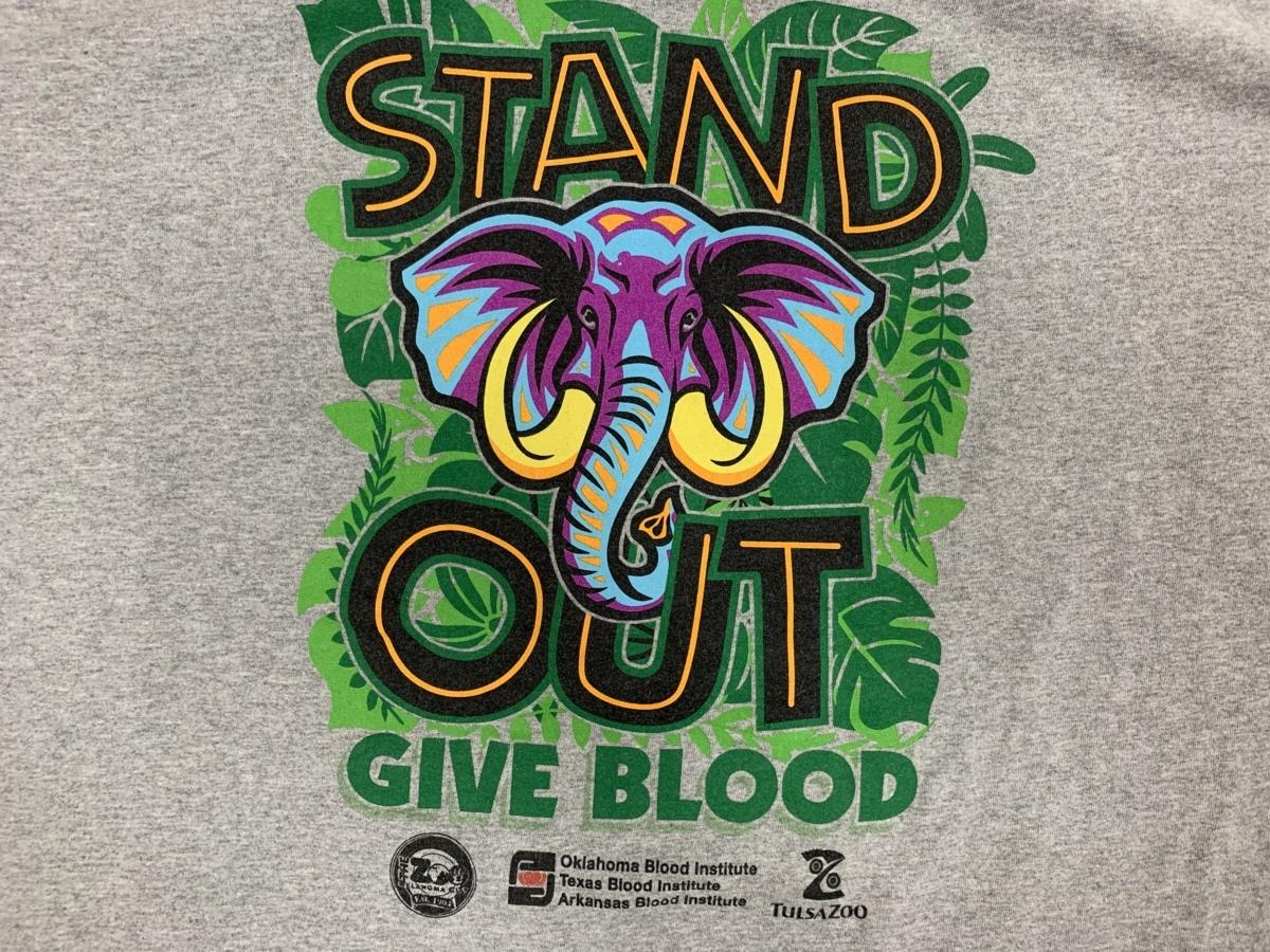stand out Tシャツ アメリカ輸入品 USA古着卸 アメカジ サイズ 2XL BIG オーバーサイズ gildanタグ_画像3