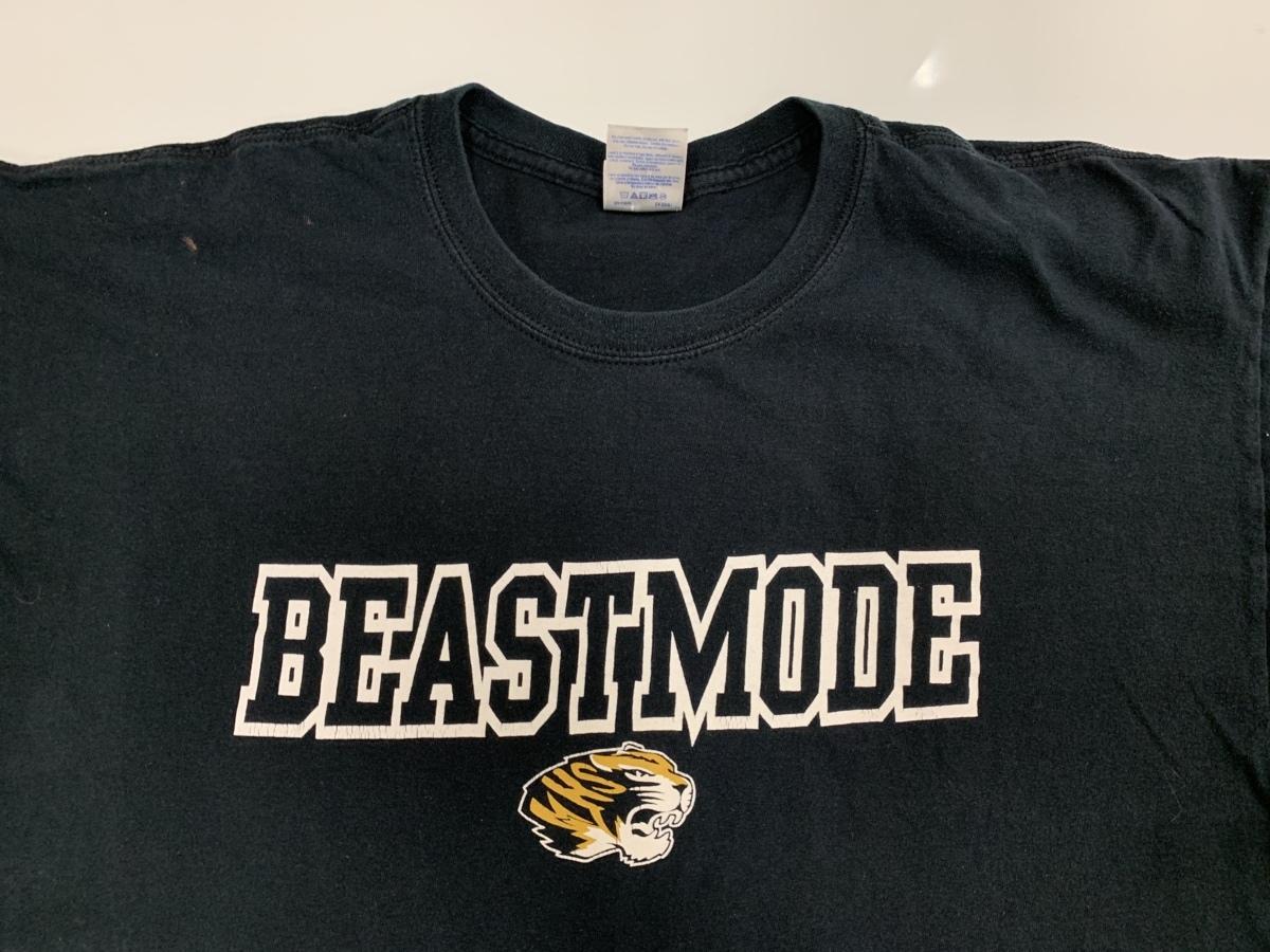 beastmode Tシャツ アメリカ輸入品 USA古着卸 アメカジ サイズ XL BIG オーバーサイズ dildanタグ _画像2