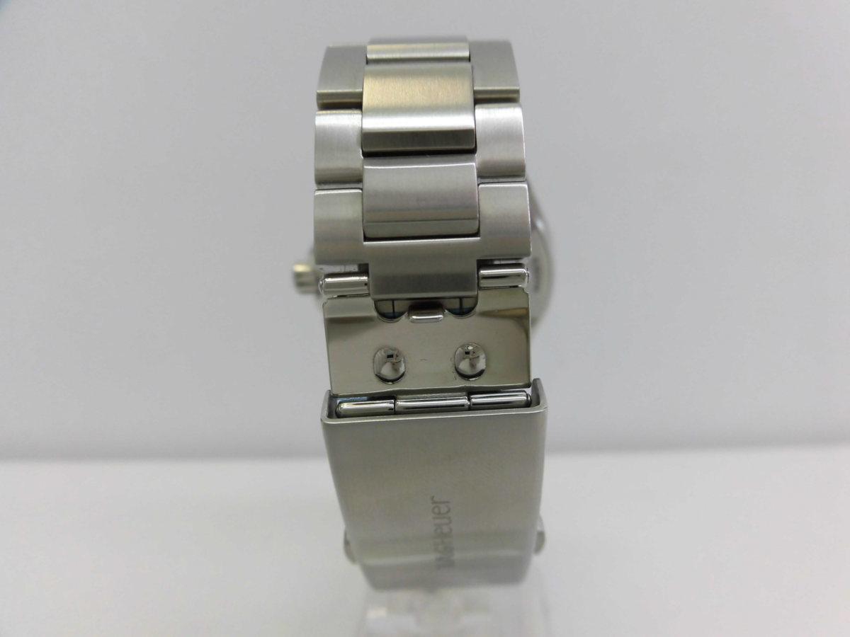 ●TAG HEUER タグホイヤー AQUARACER アクアレーサー アラーム メンズ クォーツ 腕時計 WAY111Z.BA0928 箱、余りコマ付き ★_画像5