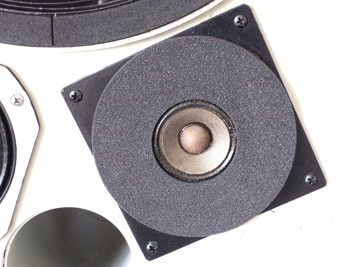 今、よみがえる JBL 4311A アル二コ グレイ 究極の完全メンテ&チューニング ※新品のグリル&サランネットです _画像8