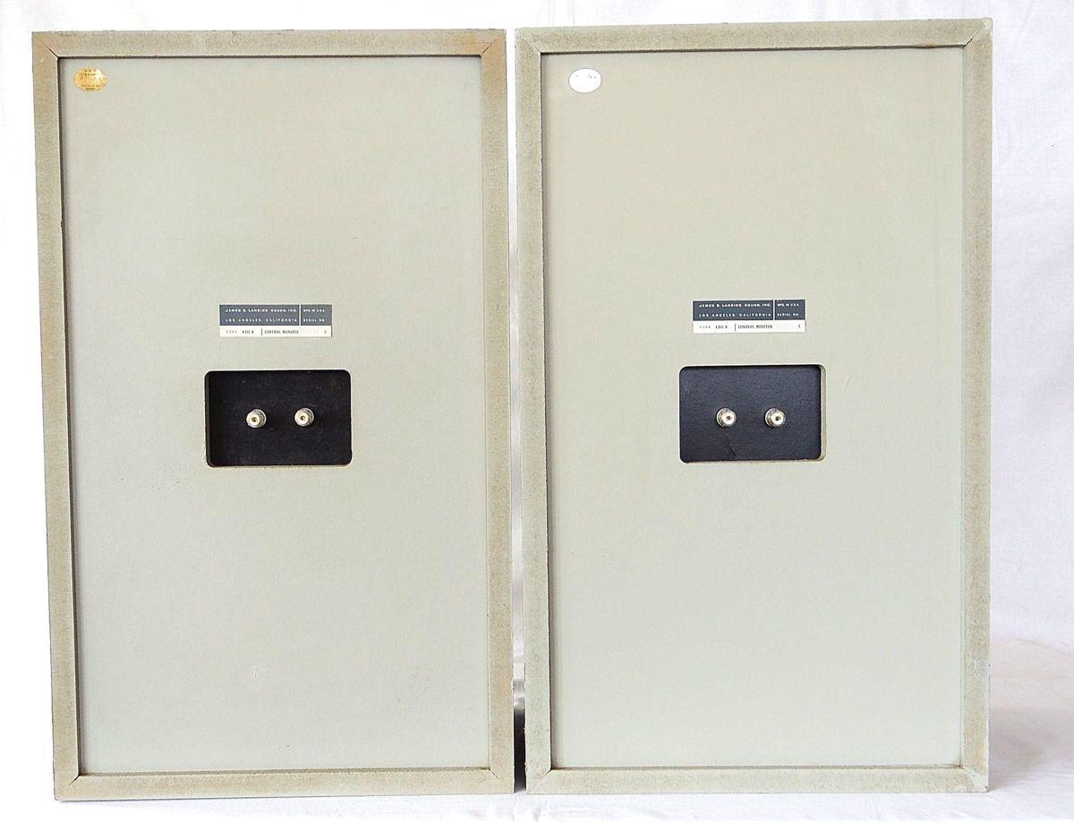 今、よみがえる JBL 4311A アル二コ グレイ 究極の完全メンテ&チューニング ※新品のグリル&サランネットです _画像10