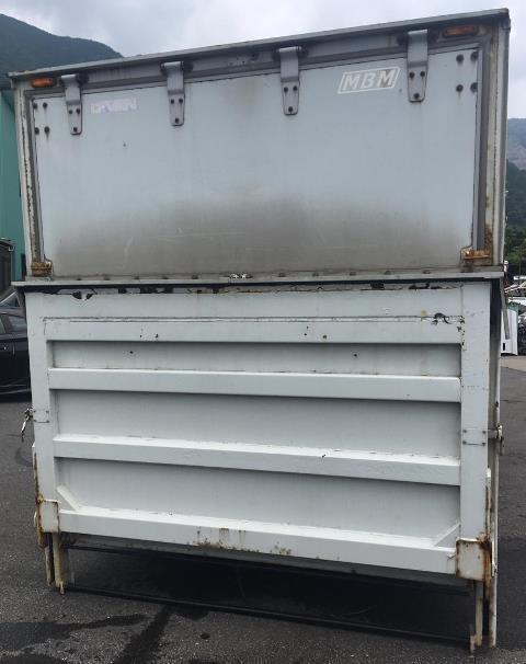 トラック 荷台 箱 パワーゲート 倉庫 物置_画像4