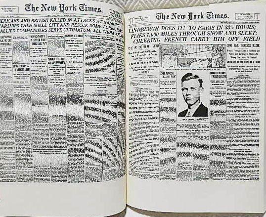 ☆洋書 The New York Times PAGE ONE COMMEMORATIVE EDITION 1896-1996 ニューヨークタイムズ1896-1996 一面縮刷集★_画像2