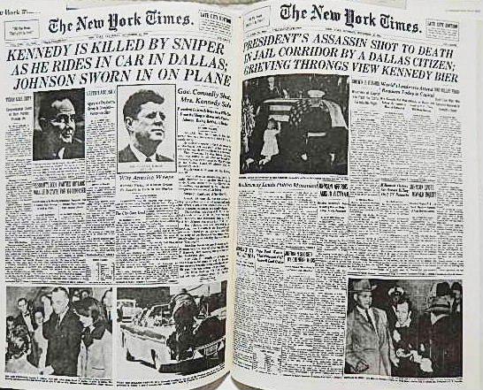 ☆洋書 The New York Times PAGE ONE COMMEMORATIVE EDITION 1896-1996 ニューヨークタイムズ1896-1996 一面縮刷集★_画像7