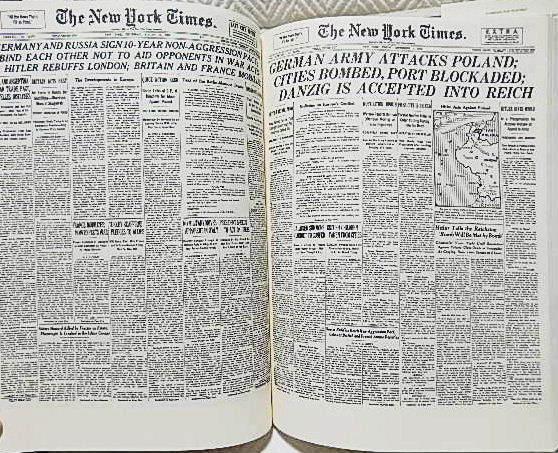 ☆洋書 The New York Times PAGE ONE COMMEMORATIVE EDITION 1896-1996 ニューヨークタイムズ1896-1996 一面縮刷集★_画像4