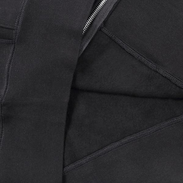 【サイズL】 カナダ製 無地 フルジップ スウェットパーカー ブラック Classic Hooded Zip Up 黒 メンズ 男性 プレーン MADE IN CANADA_画像7