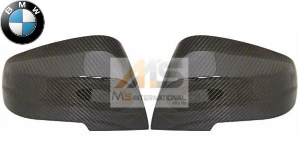 【M's】BMW F32 F33 F36 4シリーズ/X1 E84/F30 F31 F34 3シリーズ 純正品 Mパフォーマンス ミラーカバー左右(カーボン) 5116-2211-904_画像1