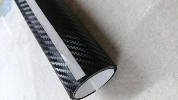 * カーラッピングシート 3Dカーボン調 ブラック 艶なし 黒 152×400cm カスタム ハンドメイド ラグジュアリー DIY ドリフト 旧車 補修_画像4