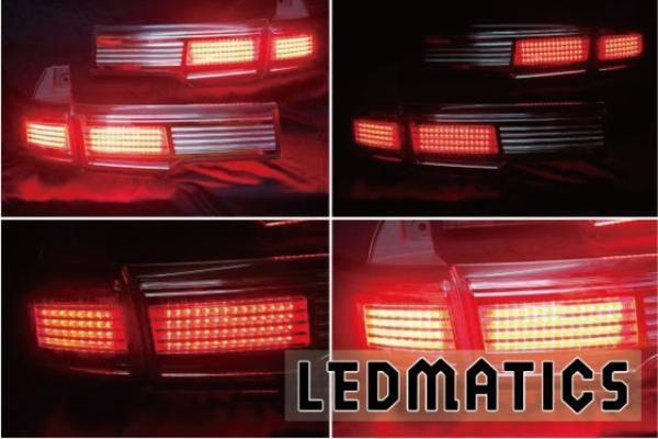 受注生産 E52 エルグランド LEDアッパーテール 後期HS/R用クリア 新品 送料:L_画像1