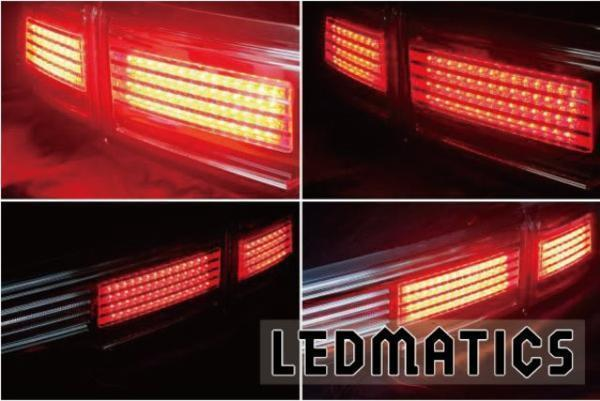 受注生産 E52 エルグランド LEDアッパーテール 後期HS/R用クリア 新品 送料:L_画像2