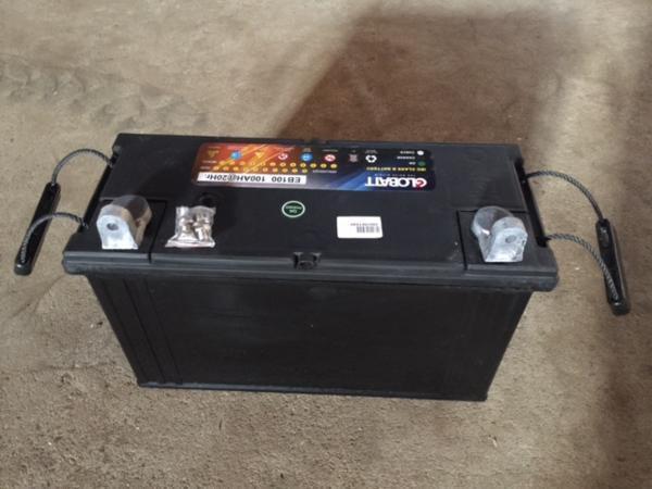 EB100 ディープ サイクル バッテリー 充電し繰り返しOK  新品 y_画像4