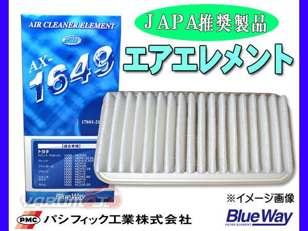 ■フリード フリードスパイク GB5 GB6 GB7 GB8 【 エアエレメント 】 エアー フィルター クリーナー パシフィック工業 BlueWay