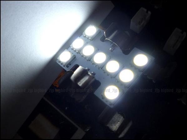 特価 24V トラック SMD LED ルーム球 T10×31㎜ 白 ホワイト 2個組 (206) メール便/23χ_画像2