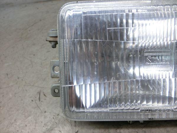 I6-0906 ホンダ ジャイロ X 2 ヘッドライト レンズ 純正品 【TD02-100~ 4st FIモデル 動画有】_画像4