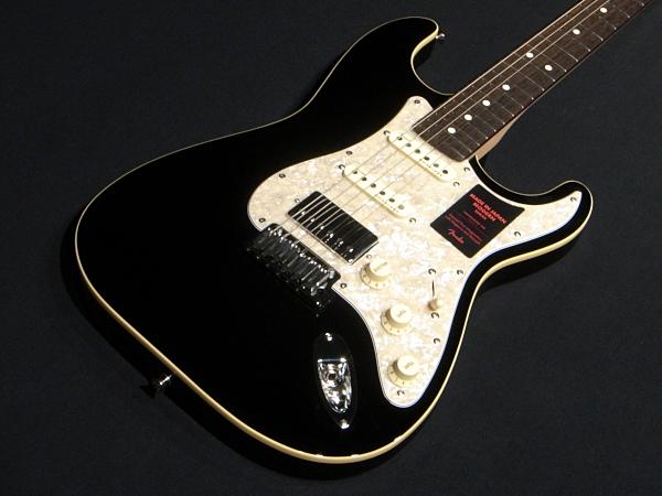 新品 送料無料 Fender Japan MADE IN JAPAN MODERN STRATOCASTER HSS BLACK フェンダー ストラトキャスター