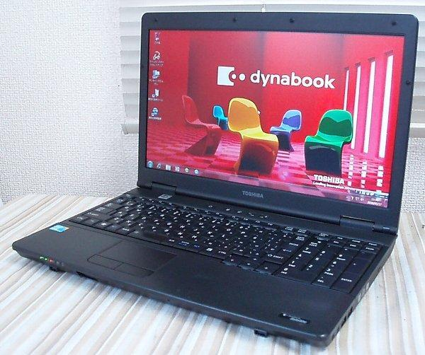 NoQ203◇dynabook Satellite L42 240Y/HD Core-i3@2.4GHz/メモリ4GB/HDD160GB/SDVD/リカバリ領域有/Win7Pro32bitリカバリ済◇_画像1