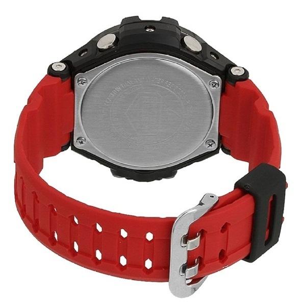 新品 即納 カシオ 時計 メンズ 腕時計 スカイコックピット アナデジ 多機能 ブラック レッド GA-1000-4B_画像3