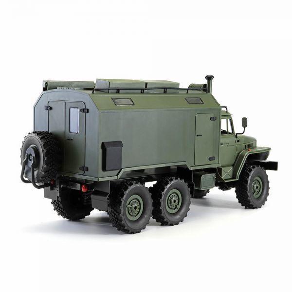 【送料無料/税込】 WPL B36ウラル1/16 2.4G 6WD ミリタリートラックロッククローラーコマンド通信車両RTR ラジコン RC【領収発行可】_画像7