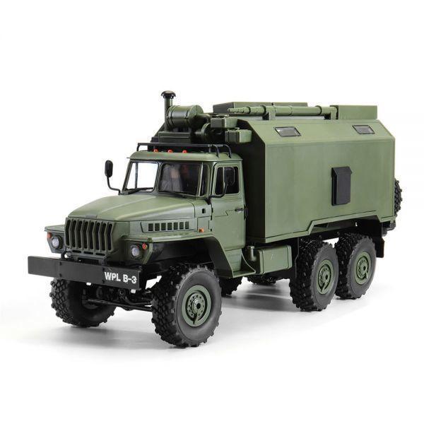 【送料無料/税込】 WPL B36ウラル1/16 2.4G 6WD ミリタリートラックロッククローラーコマンド通信車両RTR ラジコン RC【領収発行可】