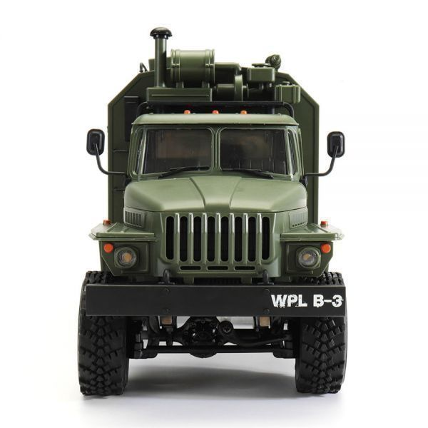 【送料無料/税込】 WPL B36ウラル1/16 2.4G 6WD ミリタリートラックロッククローラーコマンド通信車両RTR ラジコン RC【領収発行可】_画像4