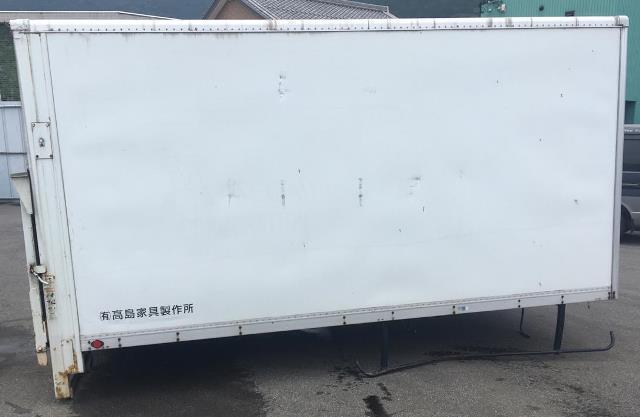 トラック 荷台 箱 パワーゲート 倉庫 物置_画像1