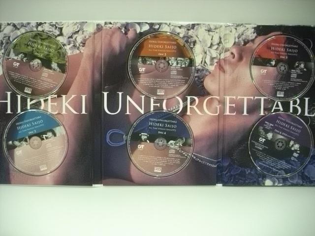 ■完全生産限定盤 5枚組Blu-spec CD2+DVDボックス 西城秀樹 / HIDEKI UNFORGETTABLE HIDEKI SAIJO ALL TIME SINGLES SINCE1972_画像5