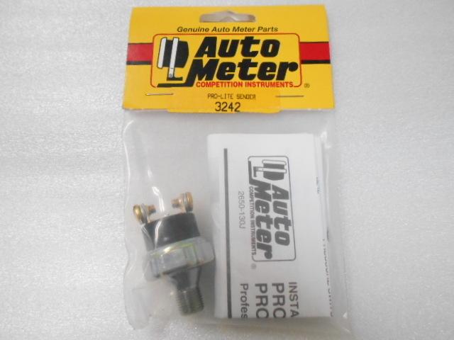 未使用! 大特価! Auto Meter オプション 圧力センサー (2.1kg/cm2)NPT1/8オス 3238/3239用 オートメーター3242(N01454