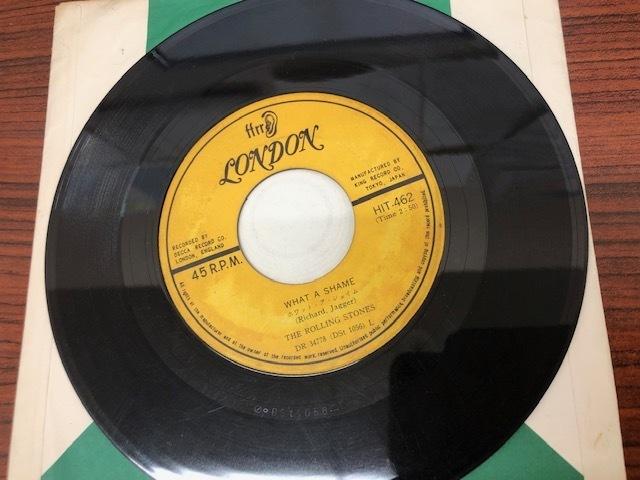 ハートオブストーン ホワットアシェイム ザ・ローリングストーンズ THE ROLLING STONES/HEART OF STONE 7インチ レコード_画像4
