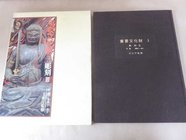 重要文化財3 彫刻Ⅲ 文化庁監修 毎日新聞社