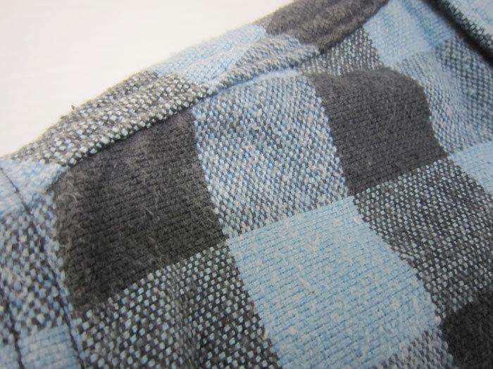 WEST RIDE ウエストライド チェック ウエスタン ネルシャツ size34_画像5