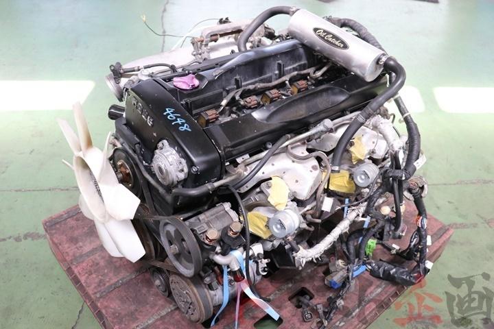 4648301 RB26DETT エンジンAssy HKS GT-SS ハイカム スカイライン GT-R BNR32 後期 トラスト企画_画像1