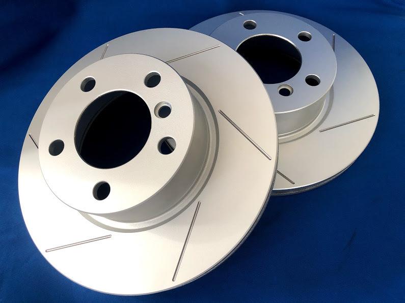 Roadster NA6CE front slit rotor & brake pad set