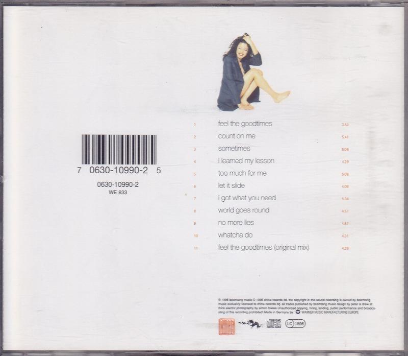 charlene smith - feel the goodtimes/EU盤/中古CD!! 商品管理番号:41155_画像3