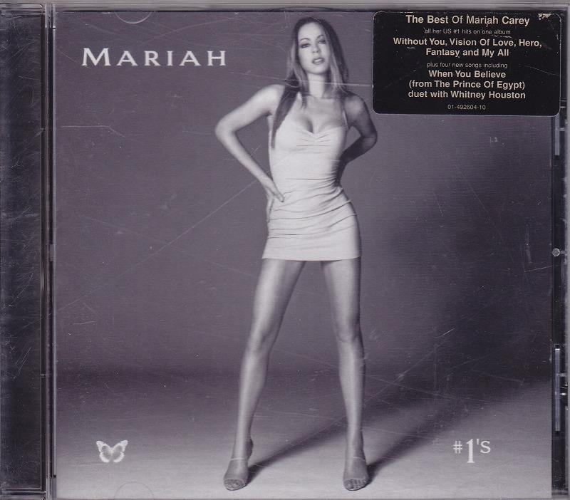 マライア・キャリー MARIAH CAREY - #1's/EU盤/中古CD!! 商品管理番号:41086_画像1