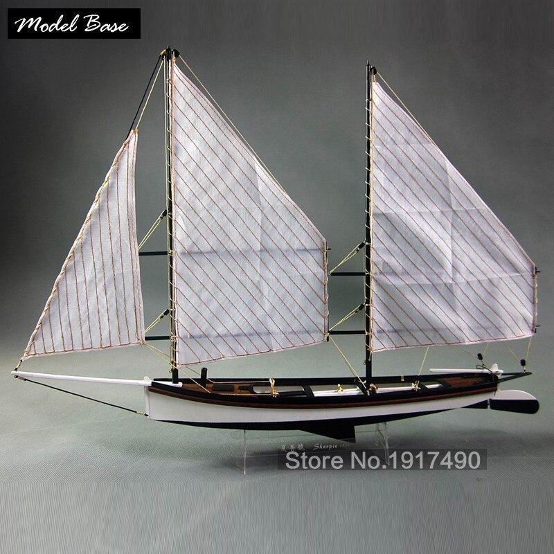【送料無料/税込】 シャーピー 1/24スケール 船 帆船 ボート ヨット 木製 模型 モデルキット プラモデル キット 組み立て式【領収発行可】_画像1