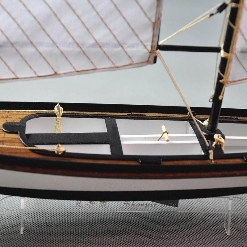 【送料無料/税込】 シャーピー 1/24スケール 船 帆船 ボート ヨット 木製 模型 モデルキット プラモデル キット 組み立て式【領収発行可】_画像3