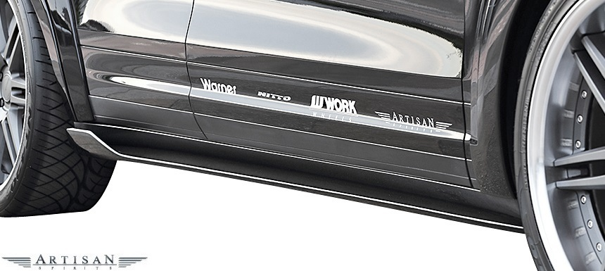 【M's】ポルシェ カイエン 958 V6用 (2010.3-) ARTISAN SPIRITS エアロ 5Pキット (F+S+R+RGS+OF)//FRP アーティシャンスピリッツ_画像6