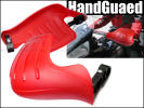 knuckle guard left right set [ red e] windshield protection against cold hand guard /10