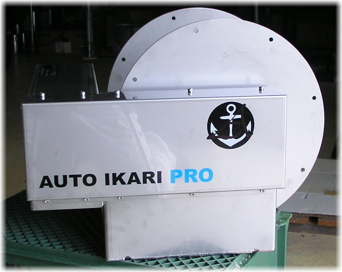 「オートイカリ AI-SPRO 24V/700Wモーター アンカーウインチ アンカーリール オートアンカー オートウインチ」の画像1
