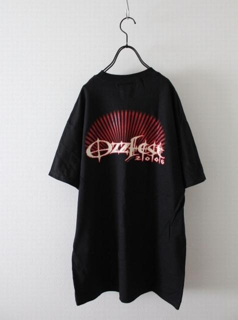 【Ozzfest】オズフェス Tシャツ 2006 未使用品 オジー・オズボーン 黒 Mサイズ ロック・フェスティバル_画像2