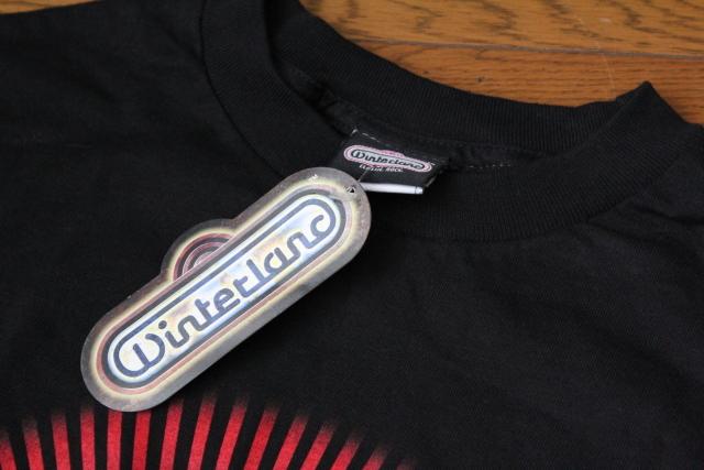 【Ozzfest】オズフェス Tシャツ 2006 未使用品 オジー・オズボーン 黒 Mサイズ ロック・フェスティバル_画像5