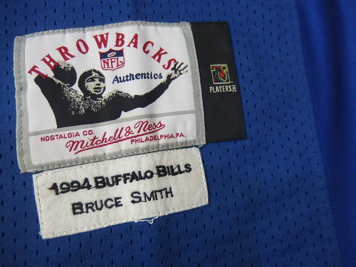 ☆新品 タグ付き mitchell&ness ミッチェル&ネス NFL ブルース・スミス ビルズ Bills ユニフォーム ジャージ #78 $300 52/XL☆_画像10