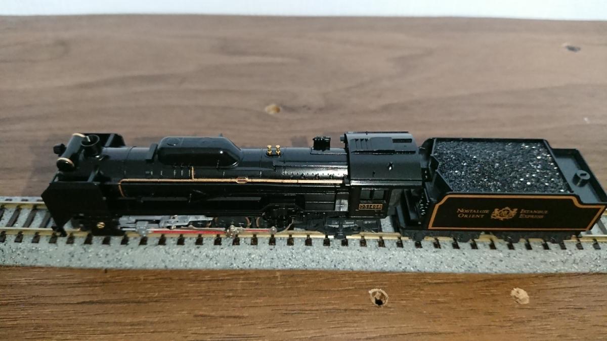 KATO D51 498 オリエントエクスプレス'88タイプ_画像7