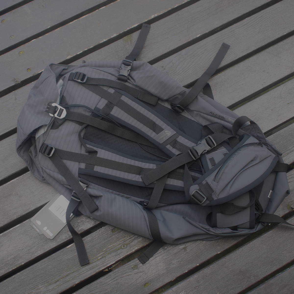 日本未発売 ザ・ノース・フェイス [THE NORTH FACE] SUMMITシリーズ Alpine 50 グレーS/M_画像4